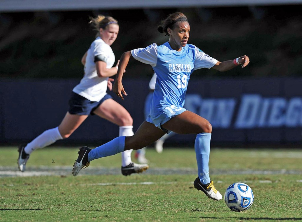 Crystal Dunn North Carolina Running At Peak Sports